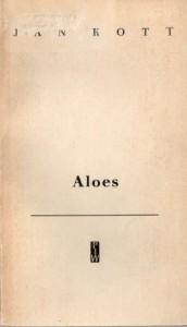 Aloes: dzienniki i małe szkice - Jan Kott