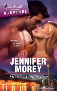Heiress Under Fire - Jennifer Morey