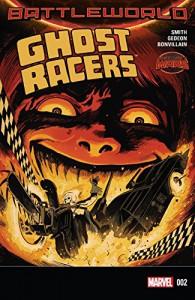 Ghost Racers (2015-) #2 - Juan Gedeon, Felipe Smith, Francesco Francavilla