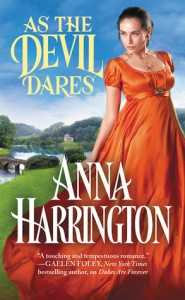 As the Devil Dares - Anna Harrington