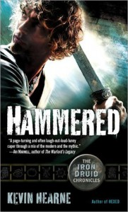 Hammered (Iron Druid Chronicles, #3) - Kevin Hearne