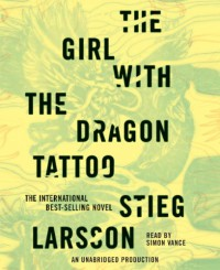 The Girl with the Dragon Tattoo - Simon Vance, Stieg Larsson
