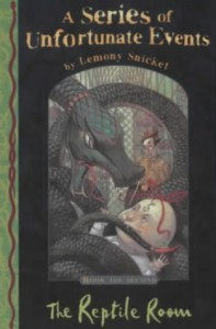 The Reptile Room  - Lemony Snicket, Brett Helquist