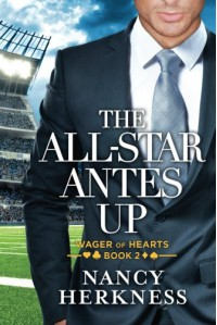 The All-Star Antes Up (Wager of Hearts) - Nancy Herkness
