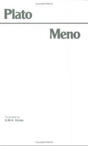 Meno - Plato, G.M.A. Grube