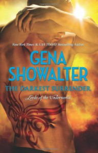 The Darkest Surrender (Lords of the Underworld #8) - Gena Showalter