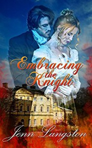 Embracing the Knight (Touched by Fire) - Jenn Langston