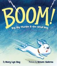 BOOM!: Big, Big Thunder & One Small Dog - Mary Lyn Ray, Steven Salerno
