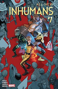 All-New Inhumans (2015-) #1 - Nico Leon, James Asmus, Charles Soule, Stefano Caselli