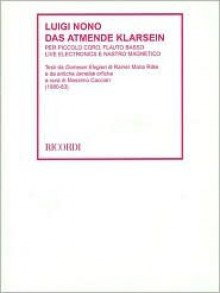 Das Atmende Klarsein (1980-83): Score with Instructional DVD - Luigi Nono, Massimo Cassiari
