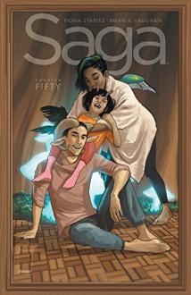 Saga #50 - Brian Vaughan,Fiona Staples