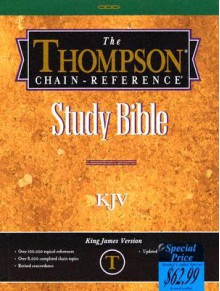 The Thompson-Chain Reference Study Bible-KJV - Anonymous