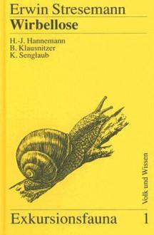 Wirbellose (Ohne Insekten) - Erwin Stresemann