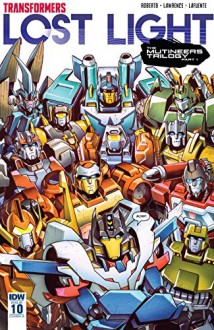 Transformers: Lost Light #10 - Jack Lawrence,James Lamar Roberts
