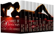 Shades Of Desire: 10 Sweet & Spicy Romances - J.A. Coffey,Valerie Twombly,Lena Hart,Cindy Stark,Kristina Knight,Emma Leigh Reed,Chanta Jefferson Rand,Wendy Ely,Dorothy M. Callahan,Diane Escalera