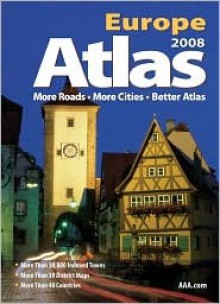 AAA Europe Road Atlas - The American Automobile Association
