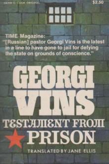 Testament from Prison - Georgi Vins
