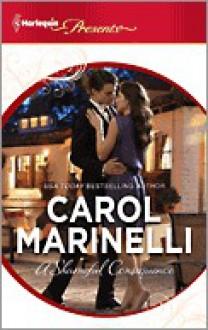 A Shameful Consequence - Carol Marinelli