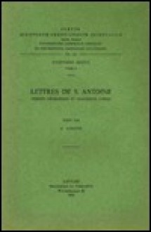 Lettres de S. Antoine. Version Georgienne Et Fragments Coptes: T. - G. Garitte