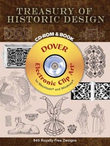 Treasury of Historic Design CD-ROM and Book - Michael Estrin