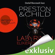 Labyrinth - Elixier des Todes (Pendergast 14) - Douglas Preston, Lincoln Child, Detlef Bierstedt, Argon Verlag
