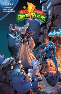 Mighty Morphin Power Rangers #21 - Jonas Scharf, Jamal Campbell, Kyle Higgins