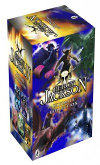 Percy Jackson Collection, - The Lightning Thief, the Last Olympian, Titans Curse, Battle of the Labyrinth - Rick Riordan