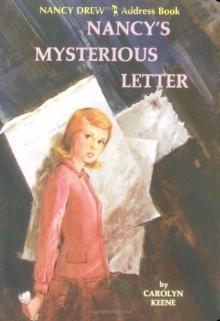 Nancy Drew Address Book: Nancy's Mysterious Letter - Chronicle Books LLC Staff