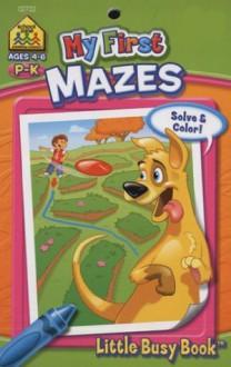 My First Mazes - School Zone
