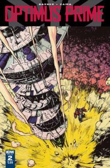 Optimus Prime #2 - John Barber,Kei Zama