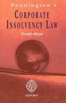 Pennington's Corporate Insolvancy Law - Robert R. Pennington