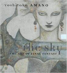 The Sky: The Art of Final Fantasy Slipcased Edition - Yoshitaka Amano