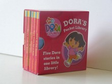 Dora's Little Library: With Dora's Opposites And Count With Dora And Dora Goes For A Ride And Dora's Book Of Words And Dora At The Beach (Dora The Explorer) - Phoebe Beinstein, Lauryn Silverhardt