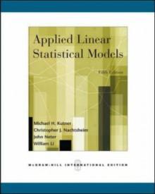 Applied Linear Statistical Models w/Student CD-ROM - Michael H. Kutner, John Neter, Christopher J. Nachtsheim