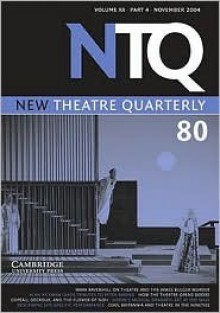 New Theatre Quarterly 80: Volume 20, Part 4 - Simon Trussler
