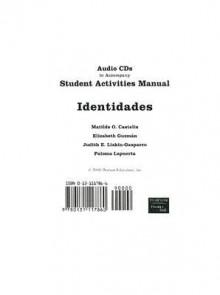Identidades: Student Activities Manual - Matilde O. Castells, Elizabeth Guzman, Judith E. Liskin-Gasparro