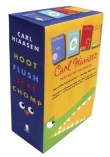 Hiaasen 4-Book Trade Paperback Box Set (Chomp, Flush, Hoot, Scat) - Carl Hiaasen