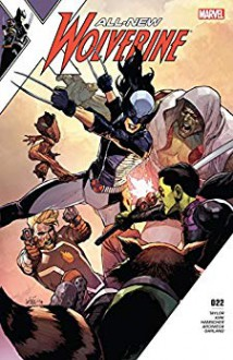 All-New Wolverine (2015-2018) #22 - Leinil Francis Yu,Barbara Taylor Bradford