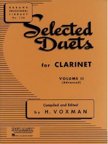 Selected Duets for Clarinet: Volume 2 - Advanced - H. Voxman