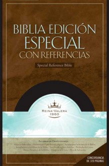 RVR 1960 Edicion Especial con Referencias - Broadman and Holman Espanol Editorial Staff