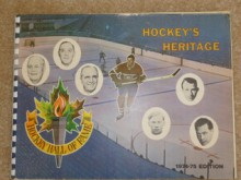 Hockey's Heritage Hall of Fame Book - NHL
