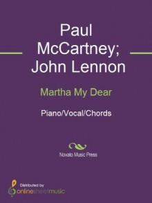 Martha My Dear - John Lennon, Paul McCartney, The Beatles