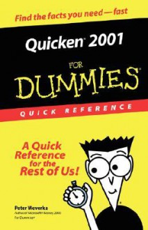 Quicken 2001 for Dummies Quick - Peter Weverka