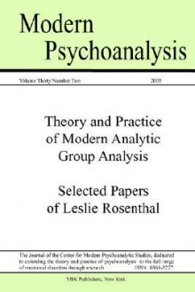 Modern Psychoanalysis, Volume 30, Number 2 - Center For Modern Psychoanalytic Studies