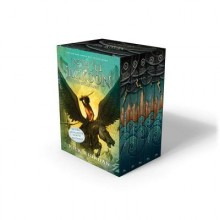 Percy Jackson and the Olympians 5 Book Paperback Boxed Set (New Covers W/Poster)[PERCY JACKSON & THE OLYMPIANS][Paperback] - RickRiordan