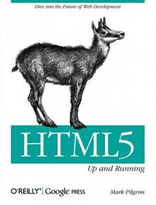 HTML5: Up and Running - Mark Pilgrim