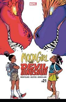 Moon Girl and Devil Dinosaur (2015-) #21 - Brandon Montclare,Natacha Bustos