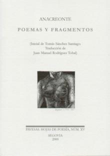 Poemas y fragmentos - Anacreon, Juan Manuel Rodríguez Tobal, Anacreonte