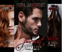 Mafia Ties: Brandon & Carly (3 Book Series) - Fiona Davenport, Elle Christensen, Rochelle Paige
