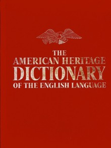 The American Heritage Dictionary of the English Language - William Morris
